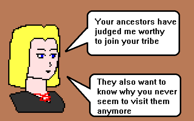 Morrowind style ancestor worship, like many religions, is driven primarily by guilt